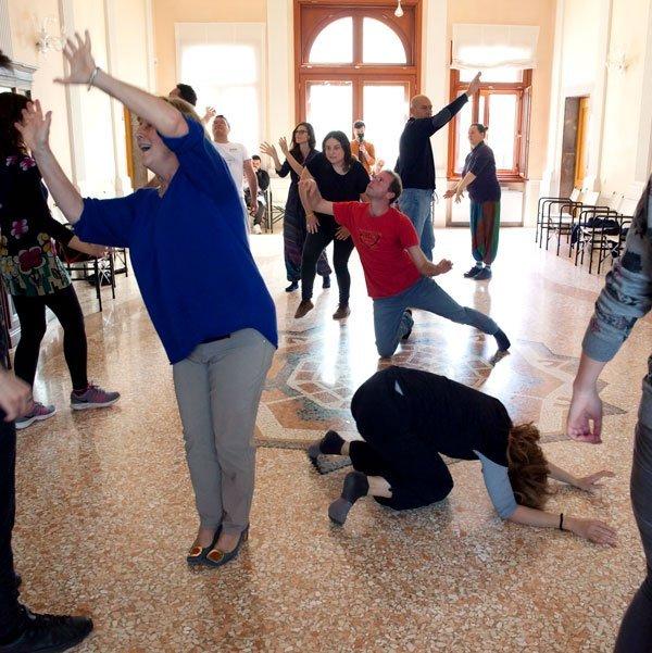 Co.So! Artisti per il sociale 2019, perfomance teatrale collettiva - Palmanova - Artista: Teatro della Sabbia